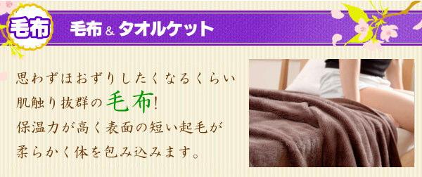 毛布&タオルケット